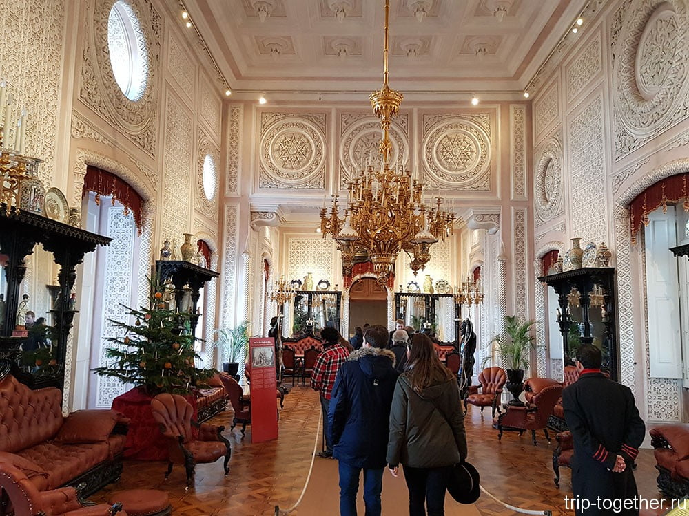 Дворец Пена, большой зал