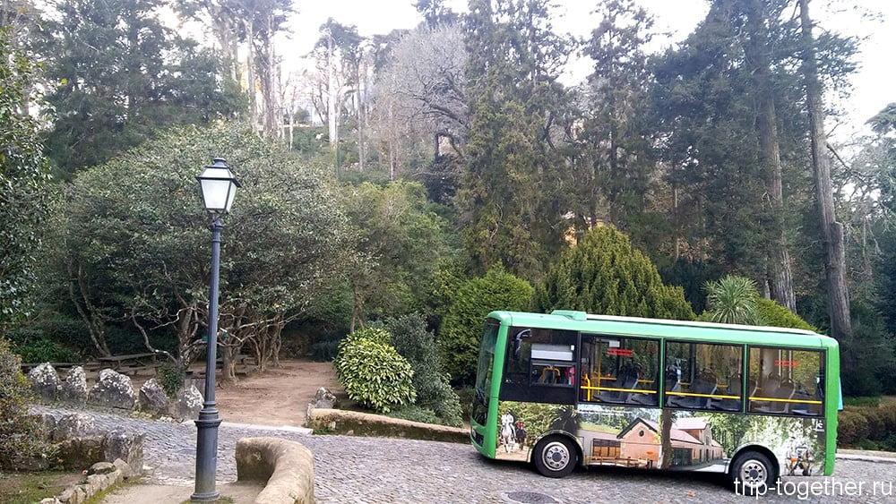 Дворец Пена, автобус