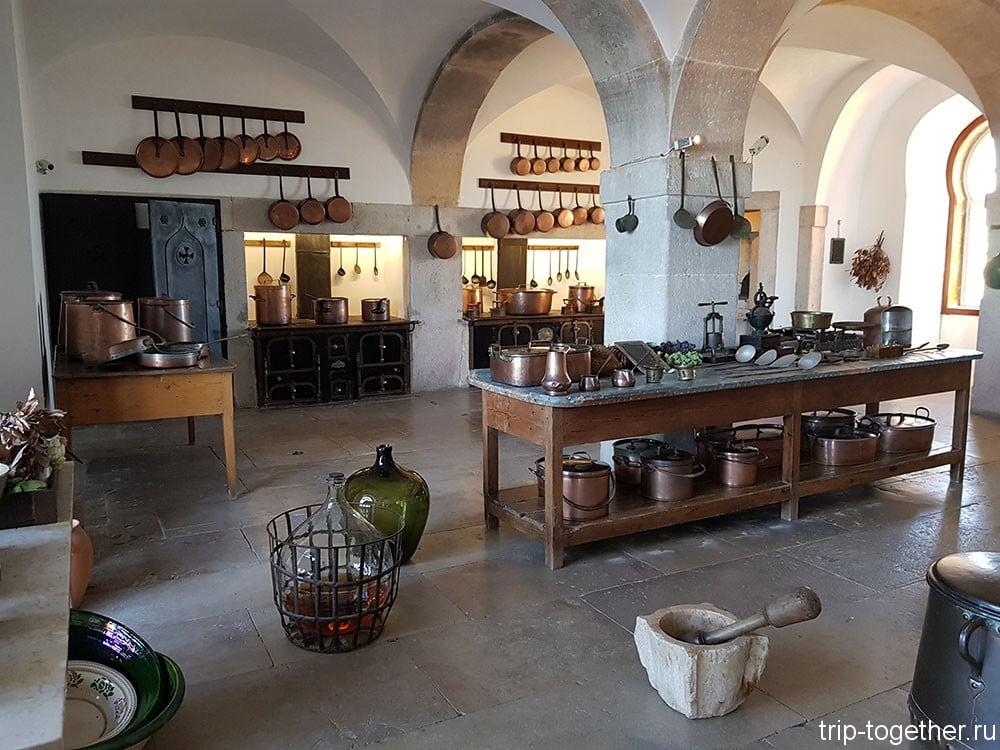 Дворец Пена, кухня