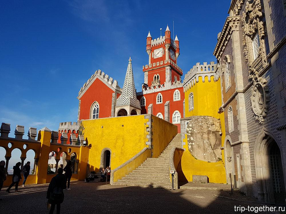 Дворец Пена, двор арок