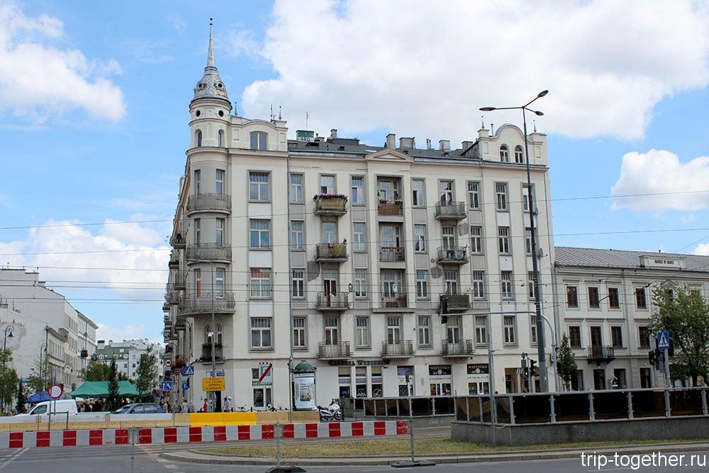 Варшава. Район Стара Прага.