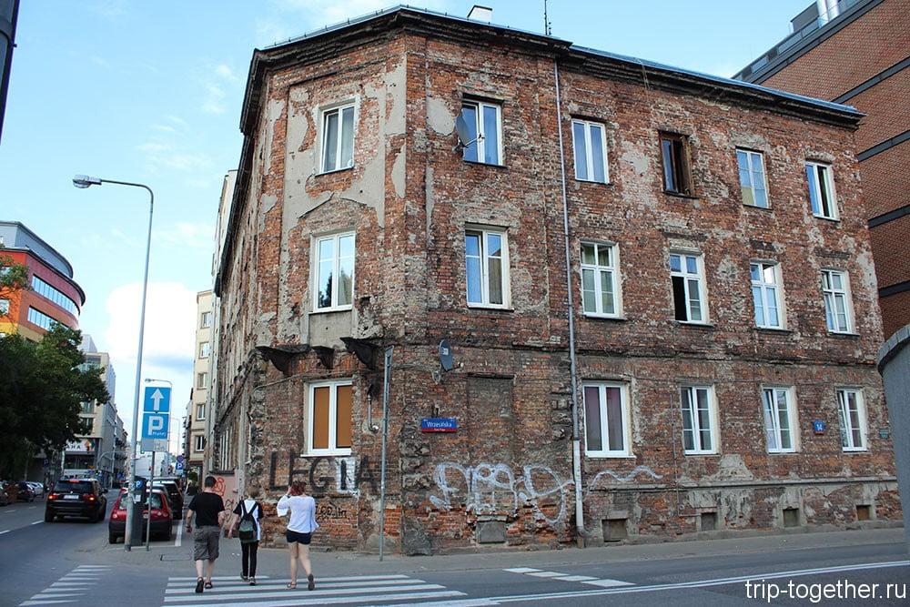 Варшава. Район Прага.