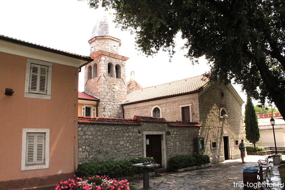 Опатия. Церковь Святого Якова.