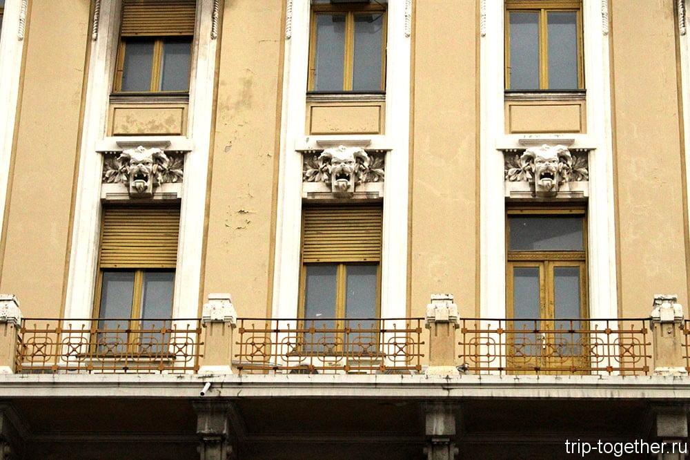 Риека. Здание компании Трансадриа