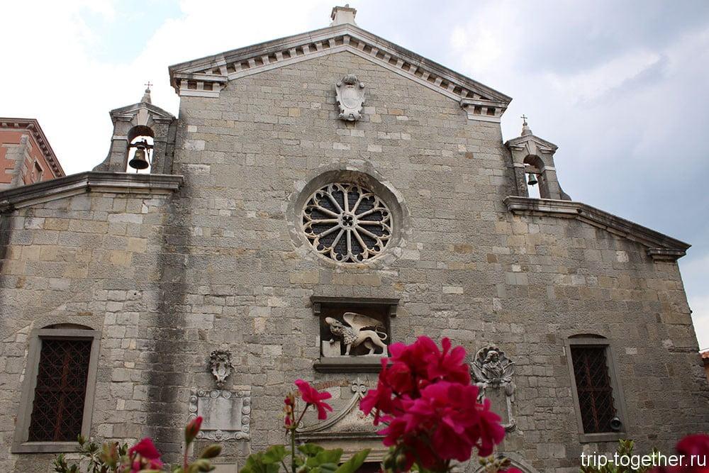 Лабин. Трехнефная церковь Рождества Пресвятой Девы Марии