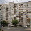 Обычная жилая многоэтажка в Будапеште