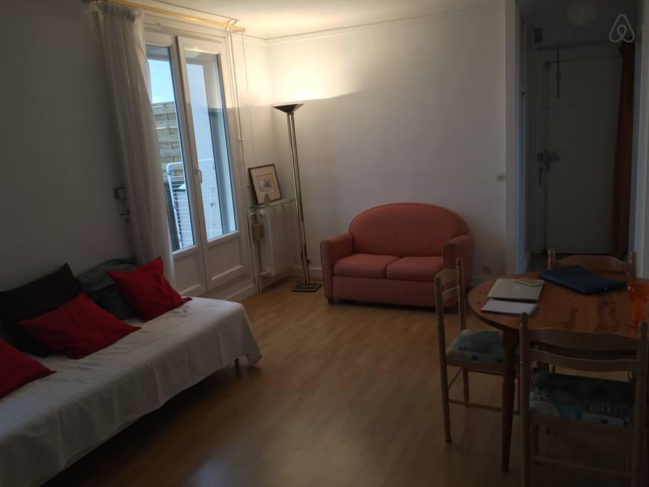 Студия в Париже
