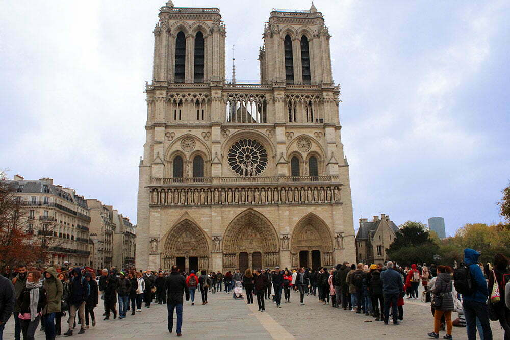 Париж самостоятельно