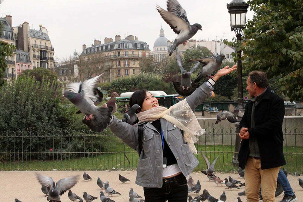 Париж, самостоятельно