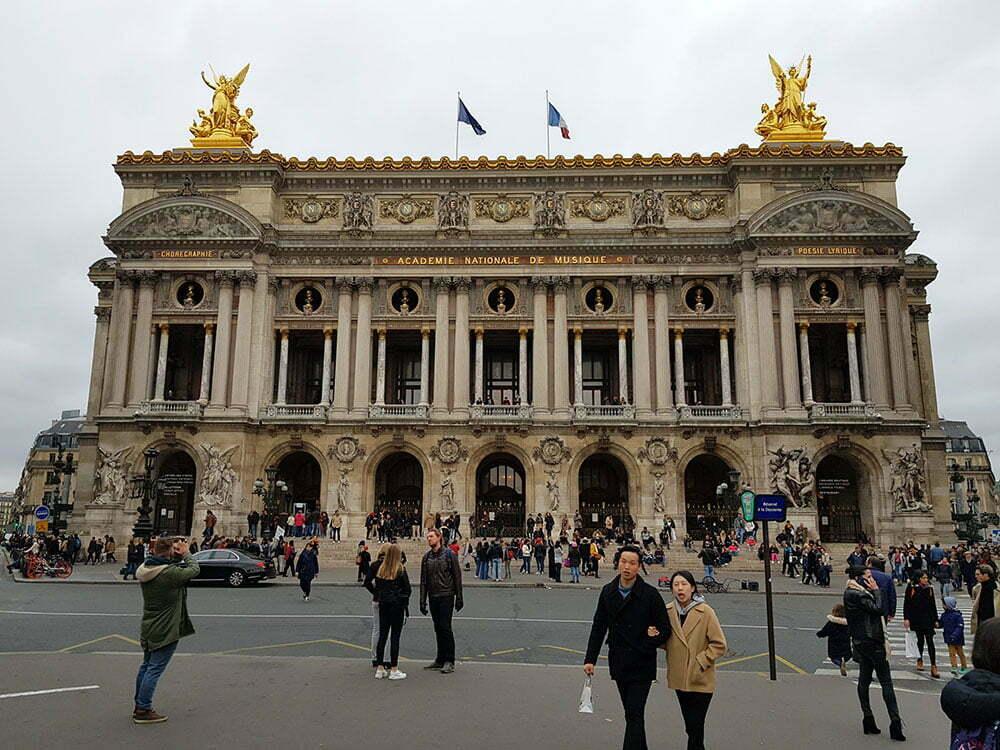 Здание оперы Гаринье