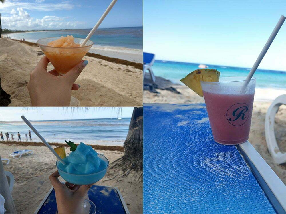 Коктейли в Доминикане