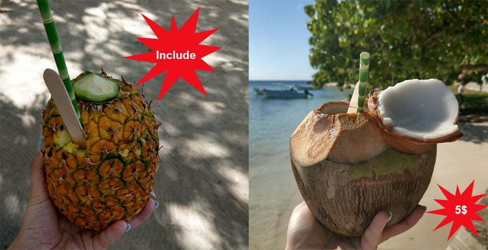 Коктейли Доминиканы, Пина Колада, Коко локо.