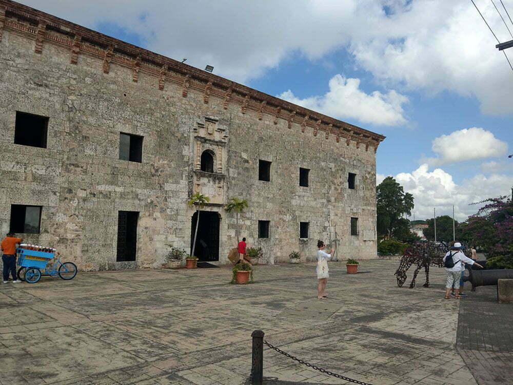 Санто Доминго. Здание музея.