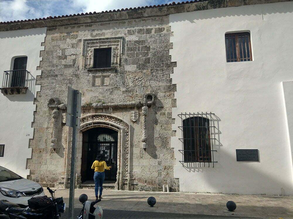 Санто Доминго. Первый каменный дом.