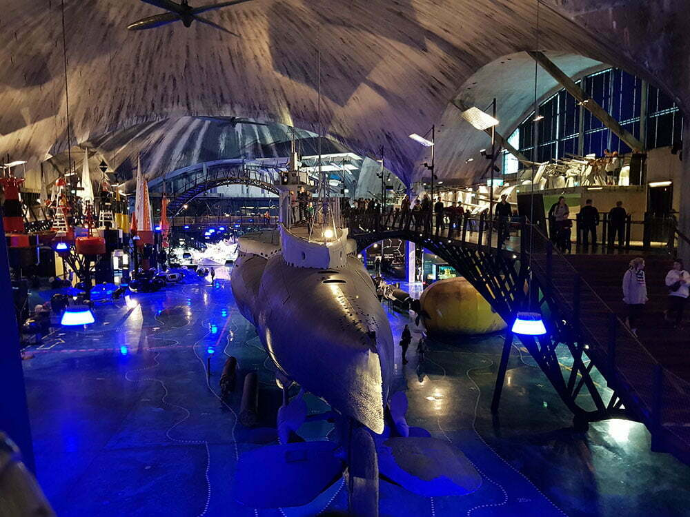 Подводная лодка«Лембит» вид сзади