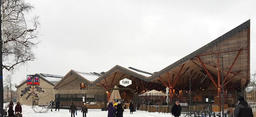 Балтийский рынок в Таллине