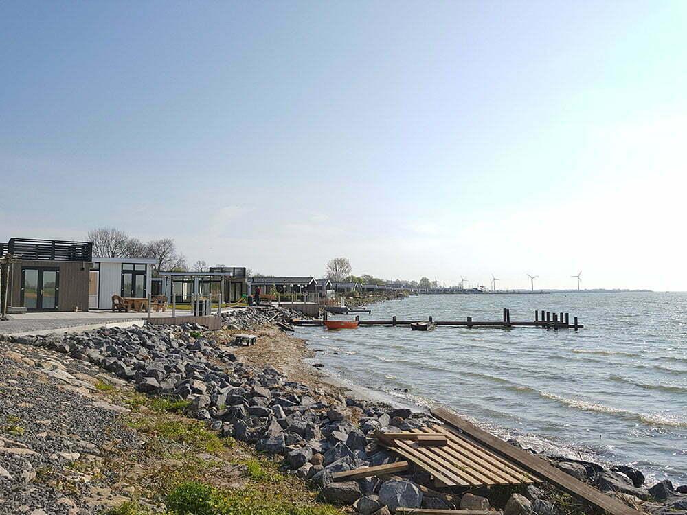Общий вид поселка EuroParcs Resort Markermeer