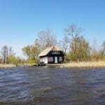 Домик на озере Bovenwijde