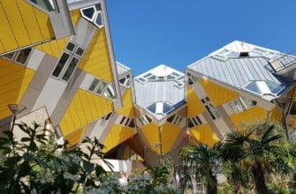Кубические дома, архитектор Пит Блом (1984)