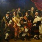 Офицеры ополчения Гауда во главе с полковником Говертом Суйсом (вероятно, первым слева), нарисованные Фердинандом Болом в 1653 году