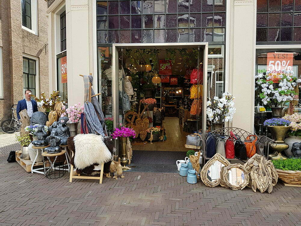 Магазин на Langestraat, Алкмар