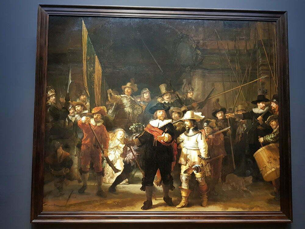 Ночной дозор, Рембранта, 1642 год