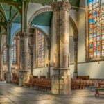 Витражи церкви Святого Иоанна Крестителя