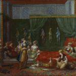 Жан Батист Ванмур -- Палата -Турецкая женщина-, 1727-1737