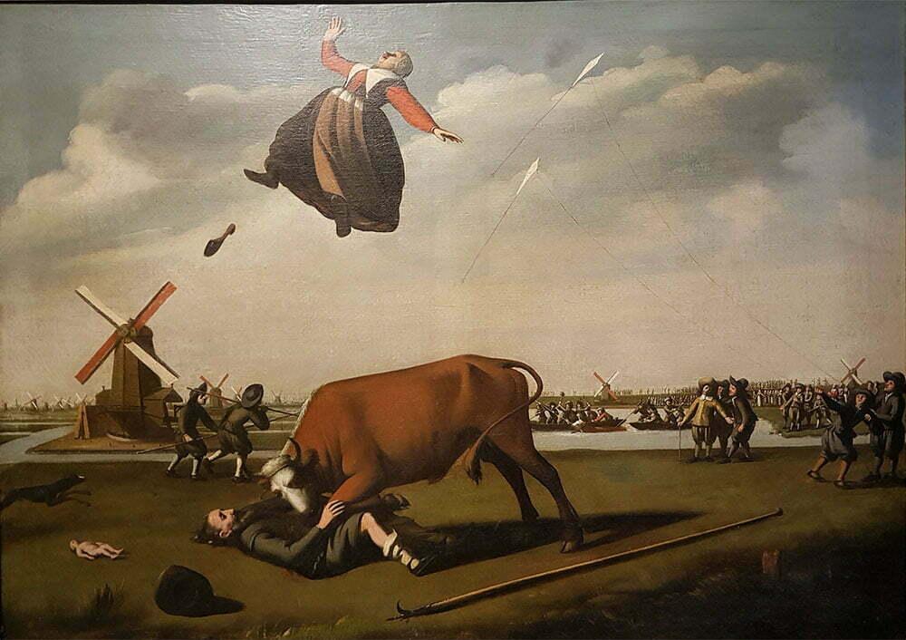 История про семью задранную быком в 29.08.1648