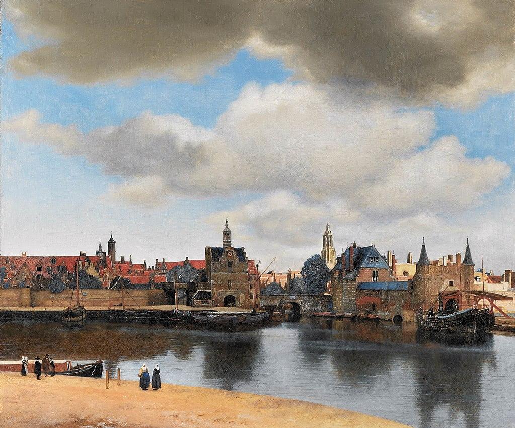 Вид Делфта Вермеера, 1660-1661 годы