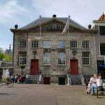 Старинный дом Koornbeurs (1295 и 1413). Делфт.