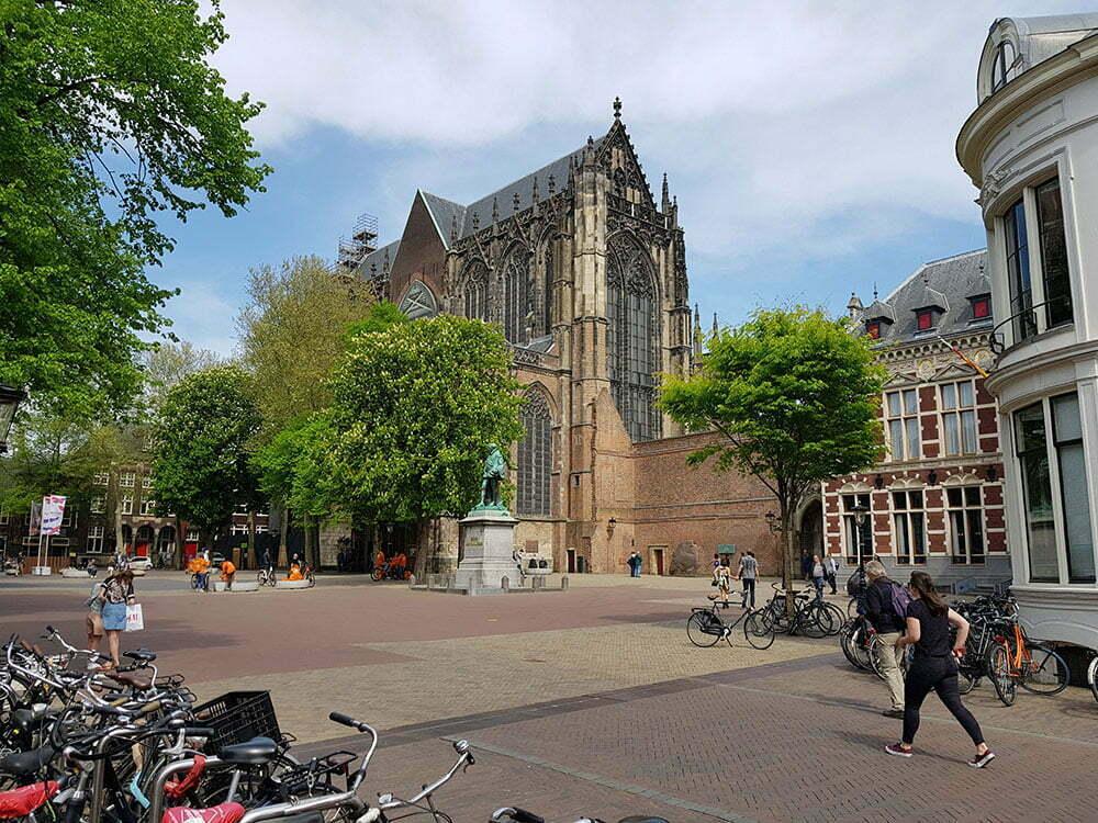 Domplein - площадь перед Домским собором