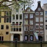 Домики вдоль Старого канала