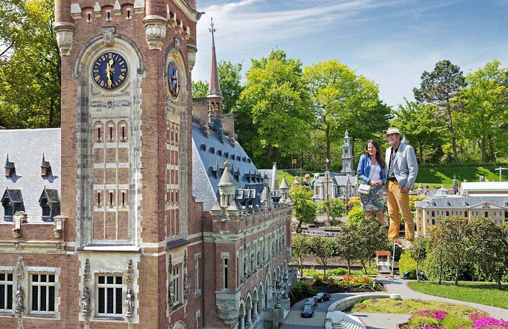 Мадюродам - Голландия в миниатюре. Гаага.
