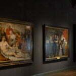 Принсенхоф, экспозиция живописи