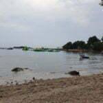 Пляж кемпинга Vestar под Ровинем