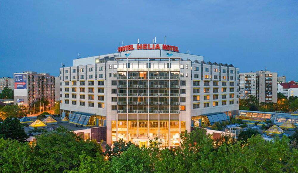Danubius Hotel Helia - отели с термальными бассейнами