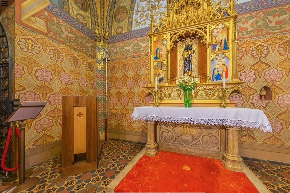 Капелла Лореты в церкви Матьяша