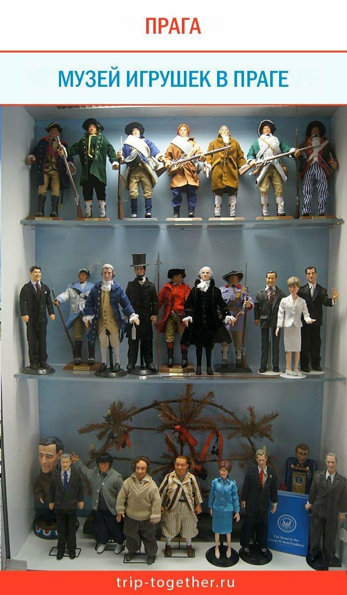 Музей игрушек в Праге внутри