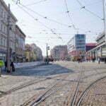 Перекрёсток у Андела, является центром Смихова