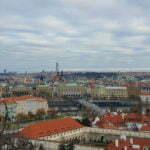 Панорама Праги со стен Пражского града
