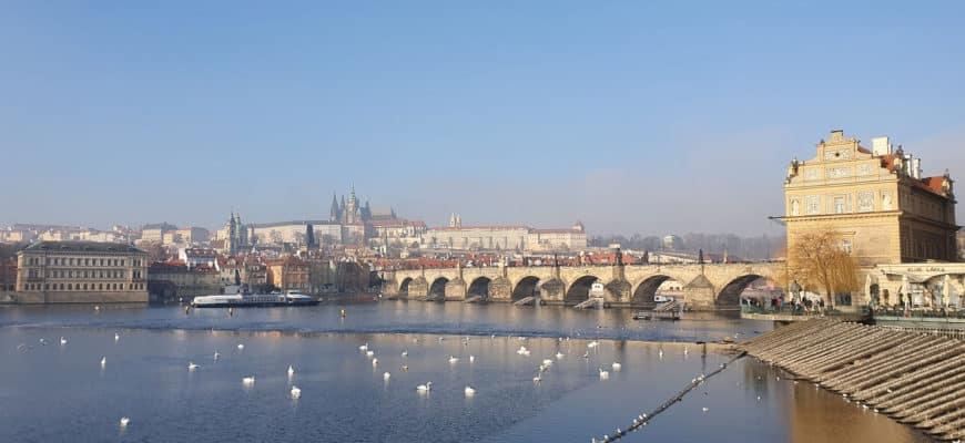Влтава, Пражский град, Карлов мост