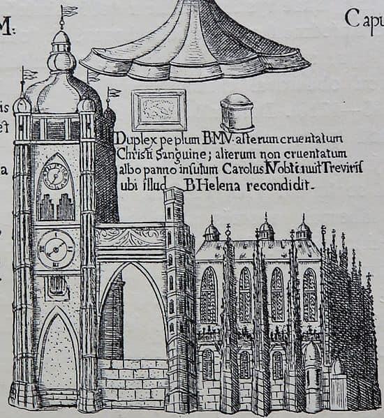 Иллюстрация из книги 1903 года издания. Собор Святого Вита в 1690 году