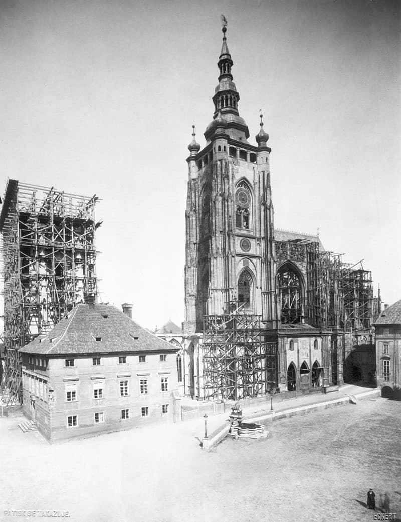 Собор Святого Вита, 1887 год