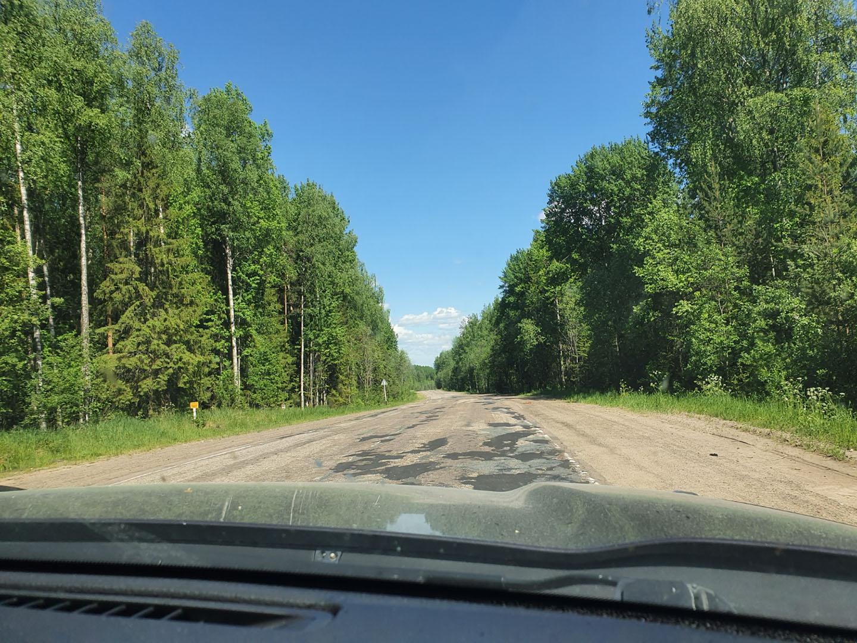 Дорога Р7 Подпорожье - Вознесенье