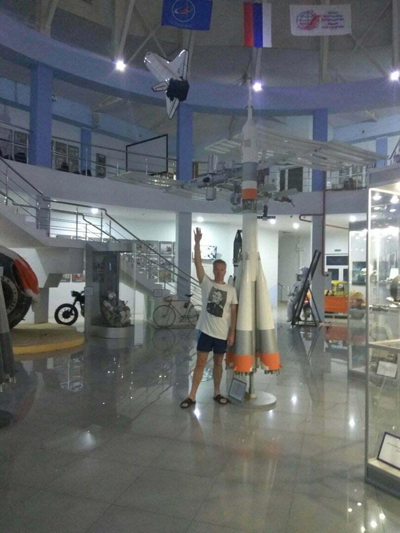 Музей космонавтики в Архипо-Осиповке - интерьер