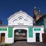 Ворота Никольского монастыря, Старая Ладога