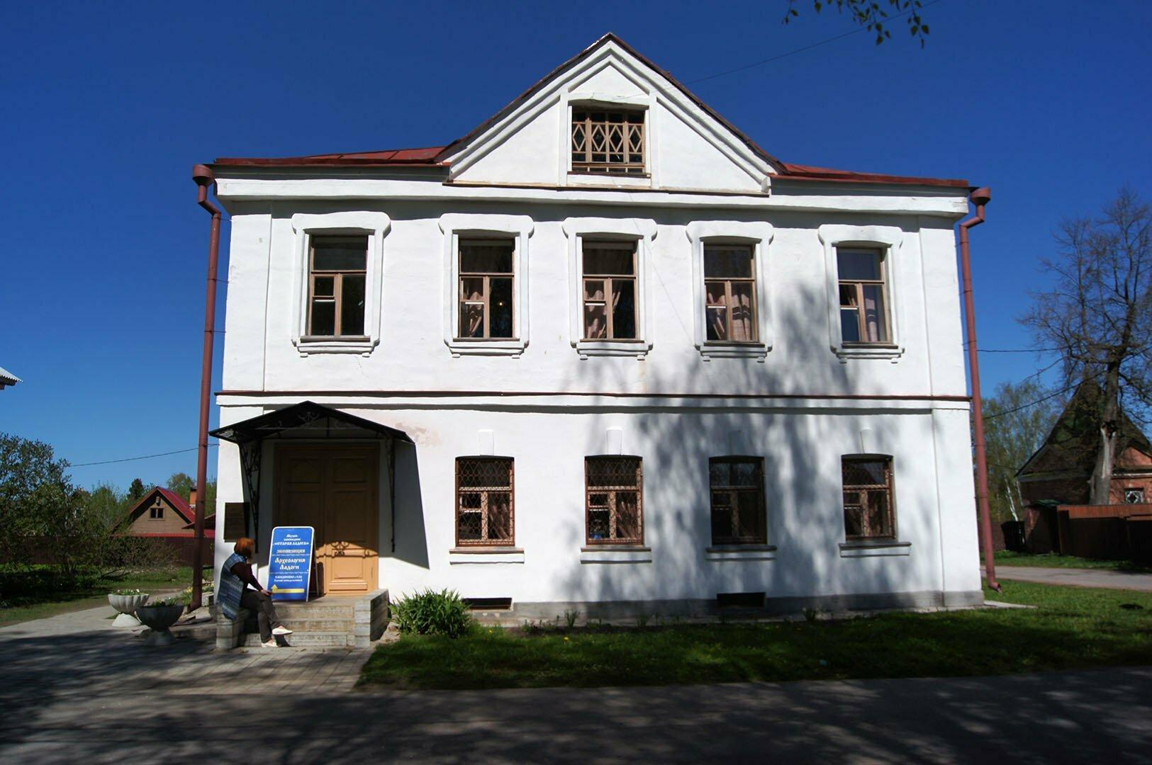 Дом купца Калязина в Старой Ладоге