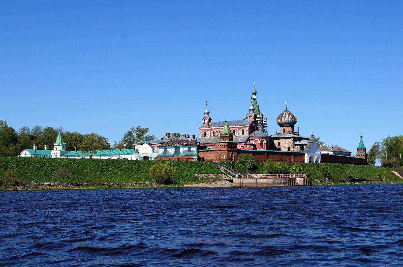 Никольский монастырь в Старой Ладоге. Ленинградская область
