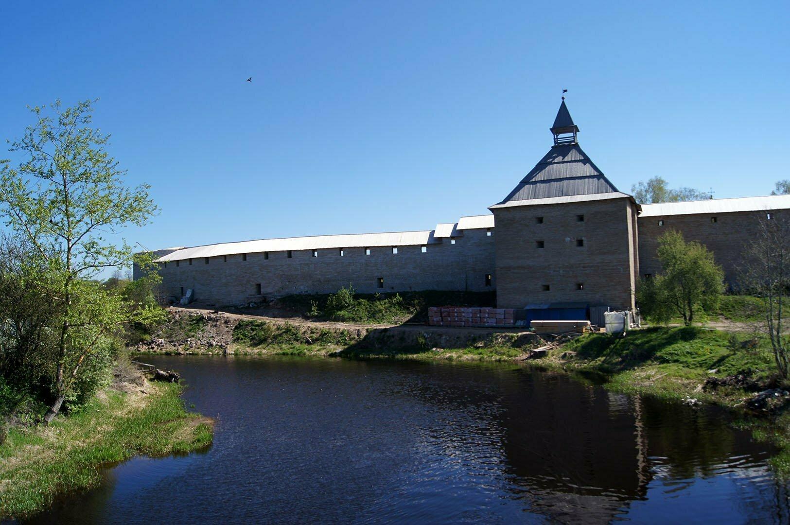 Крепость в Старой Ладоге. Ленинградская область